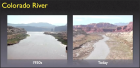 Picture of the Week – Colorado River 1950s vs Today